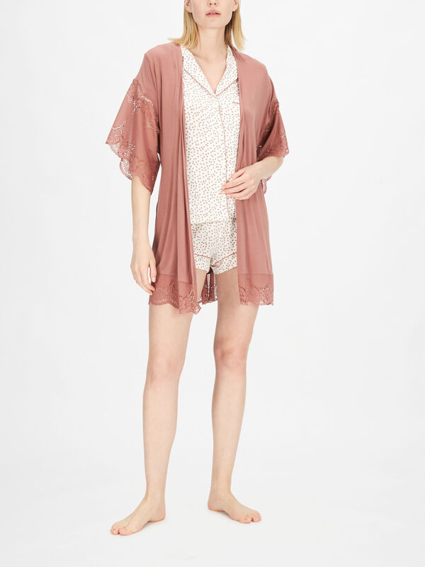 Beatrix The Full Lace Robe
