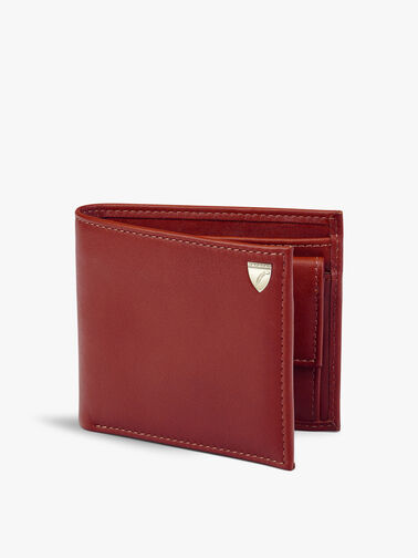 8 Card Leather Billfold Coin Wallet