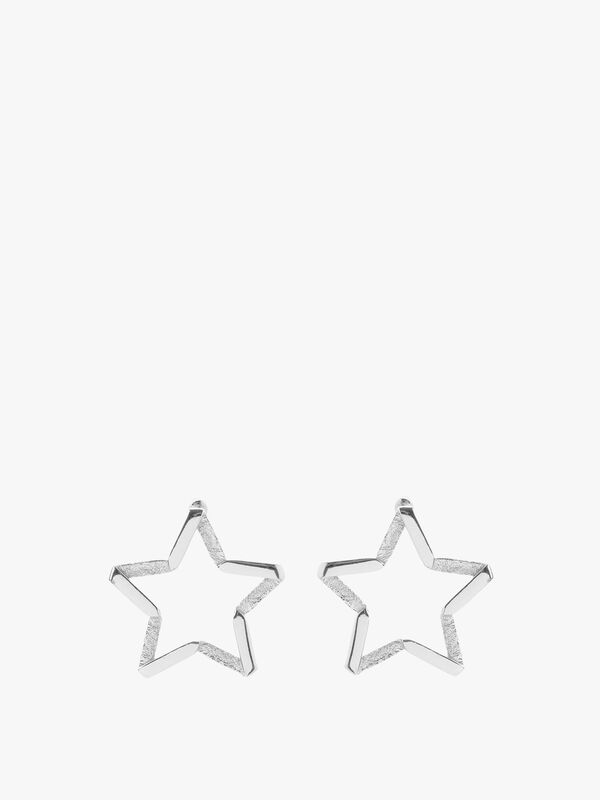Exclusive Forward Facing Star Earrings