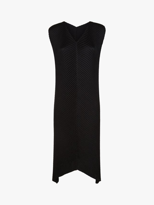 Glow Pleats Dress