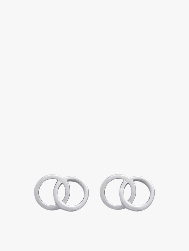 Bejewelled Interlink Earrings