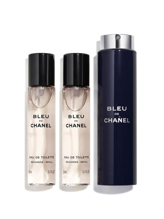 BLEU DE CHANEL Eau De Toilette Twist and Spray 3x20ml