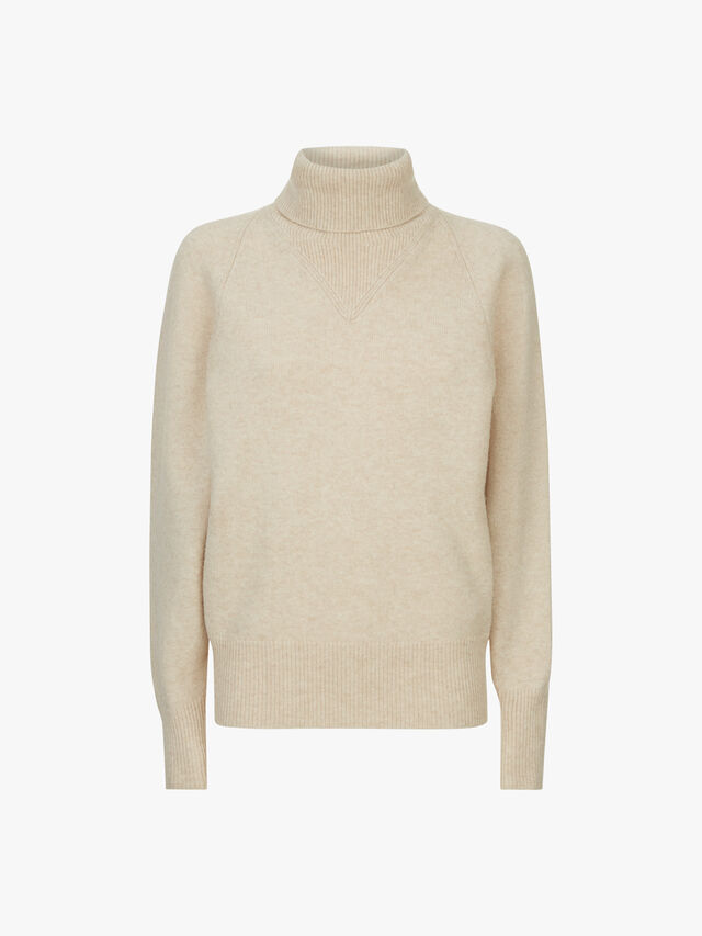 High Neck Cosy Wool Knit