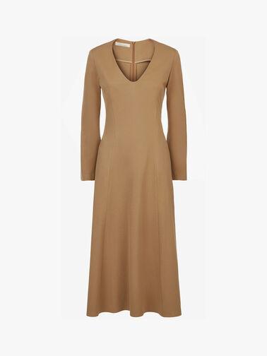 V-Neck-Clean-Midi-Dress-0001065809