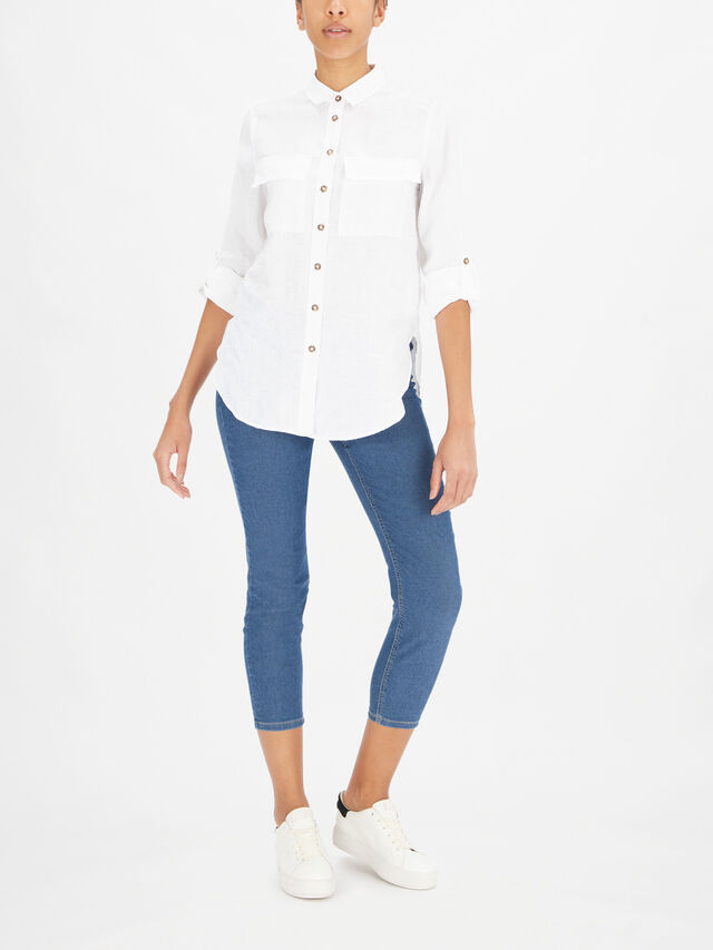 Shirt With Front Breast Pockets
