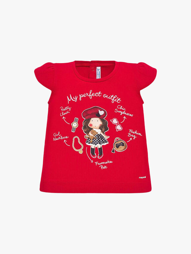 Short Sleeved Printed T-Shirt