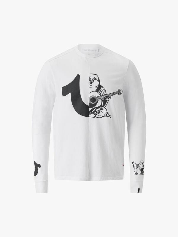 Long Sleeve Split Logo T-Shirt