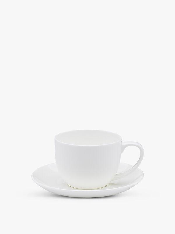 Canvas Teacup and Saucer
