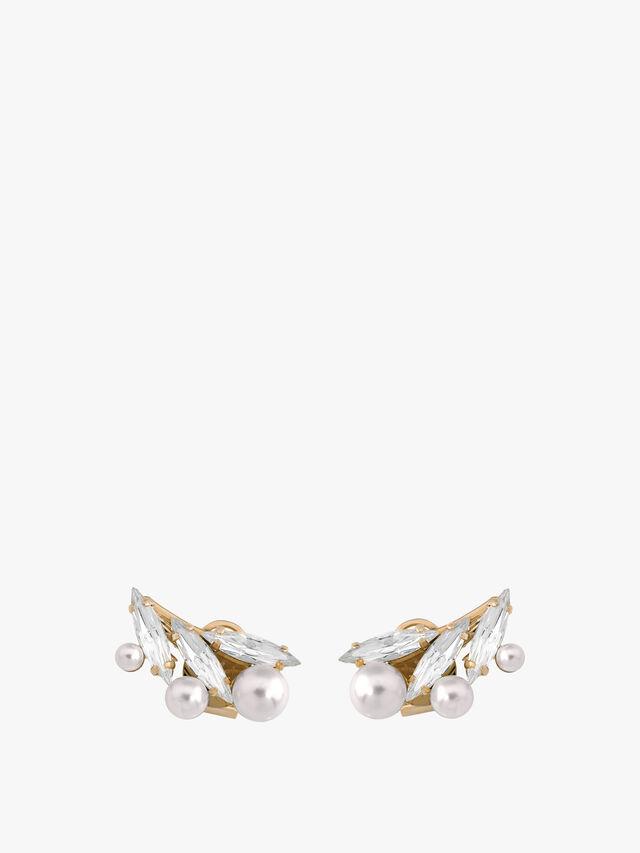 Floral Motif Earring