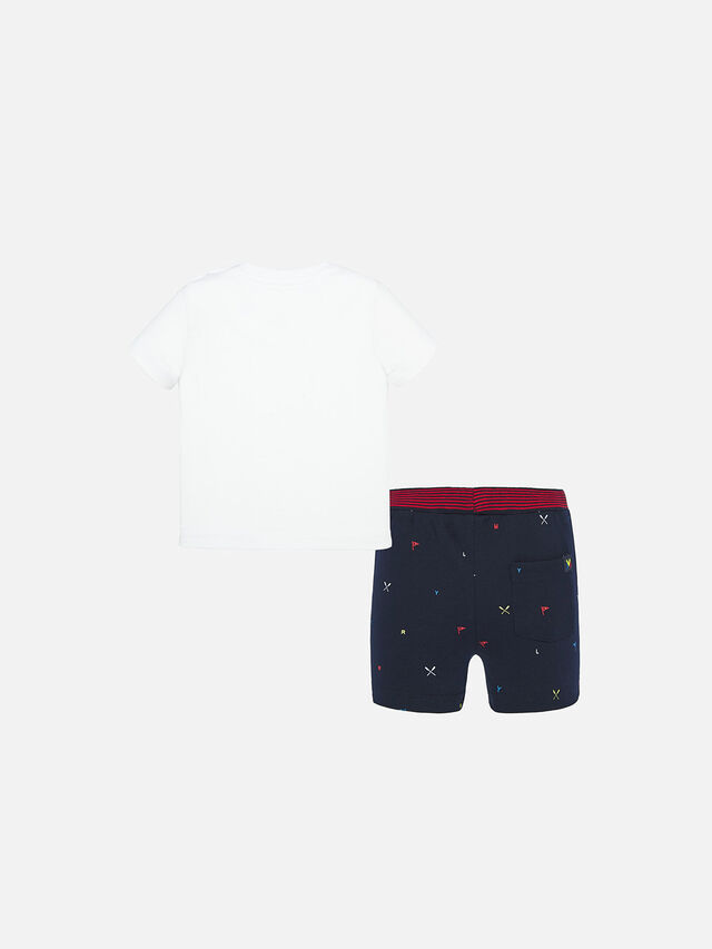 Rowing T-Shirt And Shorts