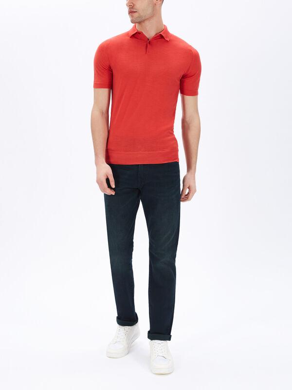 Payton Knit Polo Shirt