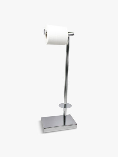 Toilet And Spare Roll Holder