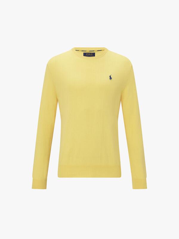 Pima Polo Player Sweatshirt