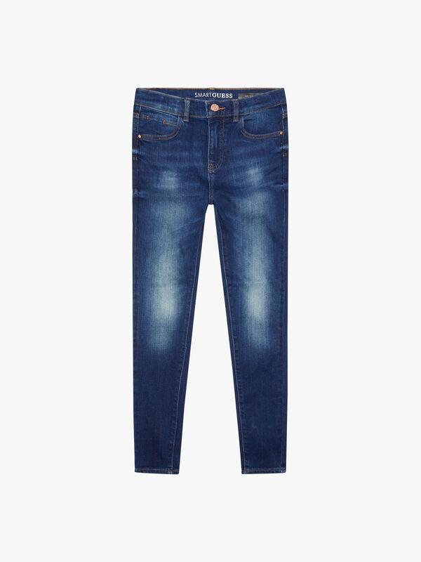 Demin High Waisted Skinny Eco Jeans