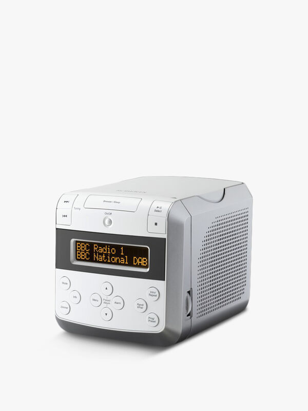 Sound 48W Bluetooth Clock Radio