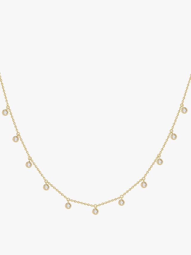 Interstellar Drop Necklace