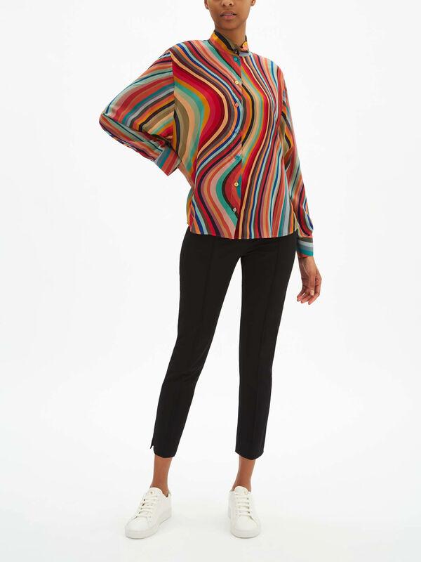 Drop Sleeve Swirl Shirt