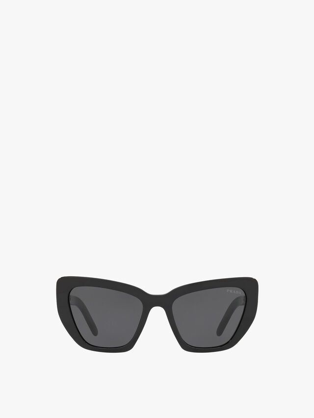 Angular Wrap Sunglasses