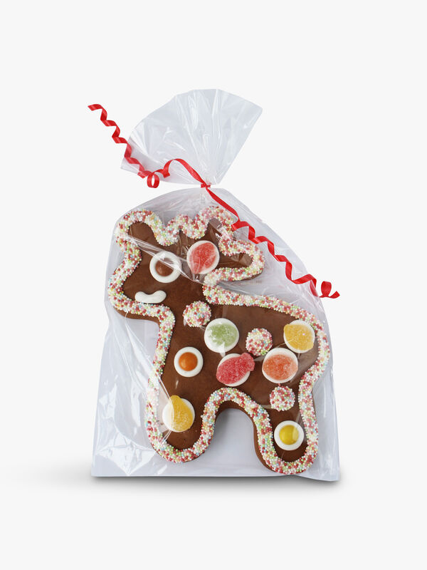 Gummy Gingerbread Reindeer 140g