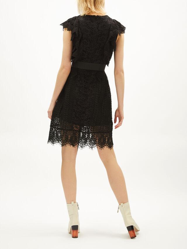 Lace Patchwork Dress