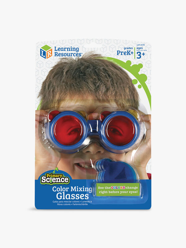 Primary Science Color Mixing Glasses