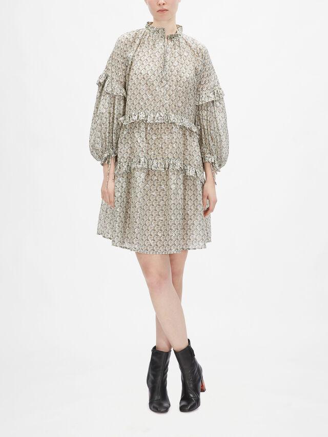 Maggie Tiered Georgette Dress