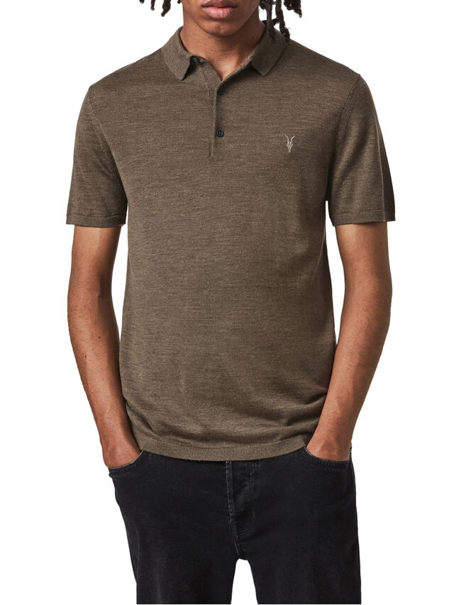 Mode Merino Short Sleeve Polo