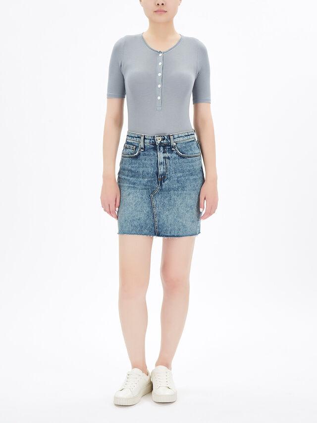 Hayden Denim Skirt
