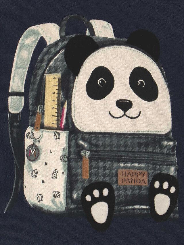 Panda Rucksack Top