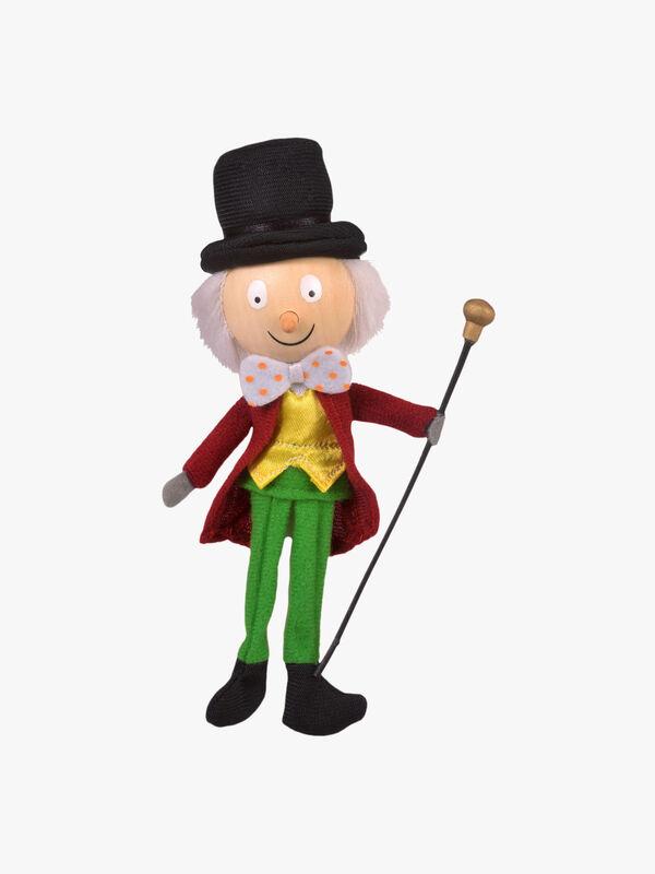 Willy Wonka Finger Puppet