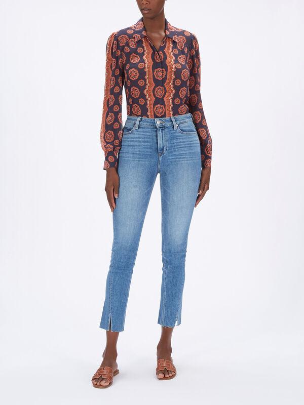 Hoxton Slim Seam And Slit Jeans