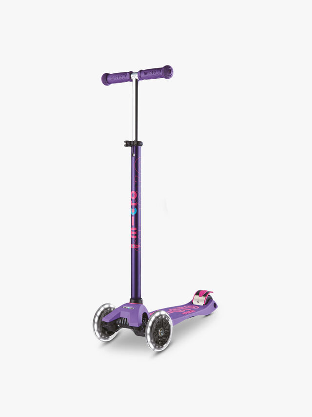 Maxi Micro Led Deluxe Scooter