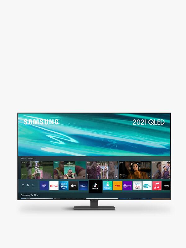 """55"""" QLED 4K HDR Smart TV (2021) QE55Q80AA"""