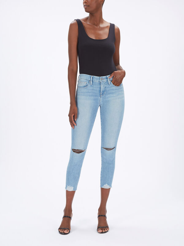 Good Petite High Rise Skinny Jeans