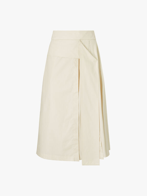 Catullo-wrap-around-effect-cotton-skirt-0000411674