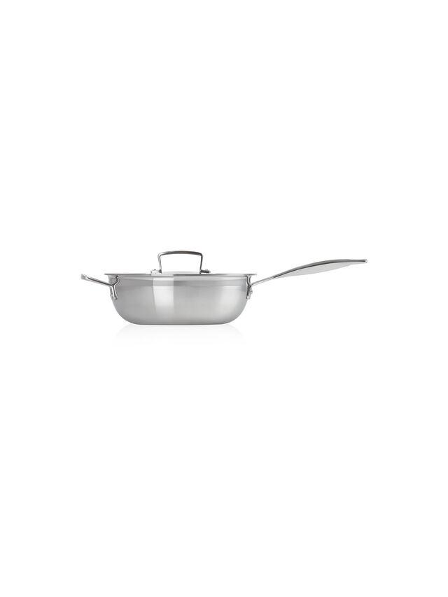 3 Ply Chef's Pan 24cm 3.3l