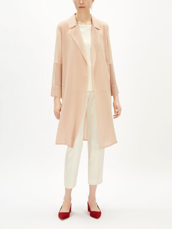 Astice Sheer Overcoat
