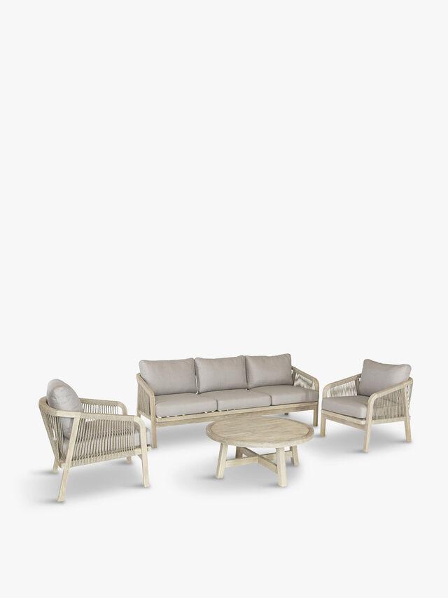 Cora Rope 5 Seat Lounge Set