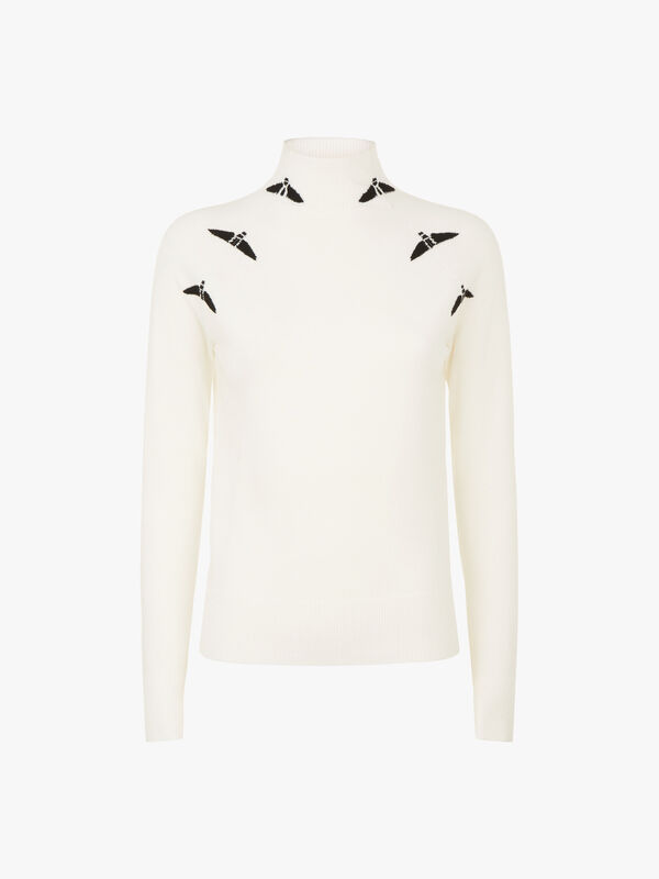 Corinto Polo Neck Sweatshirt