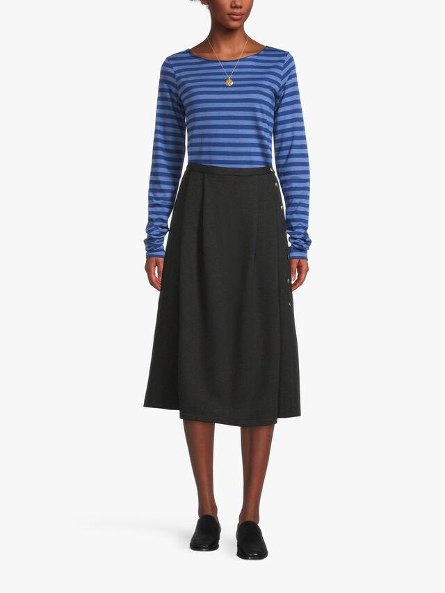 mid calf eloise skirt
