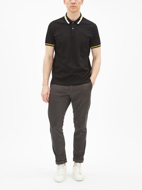 Novelty Collar Polo Shirt