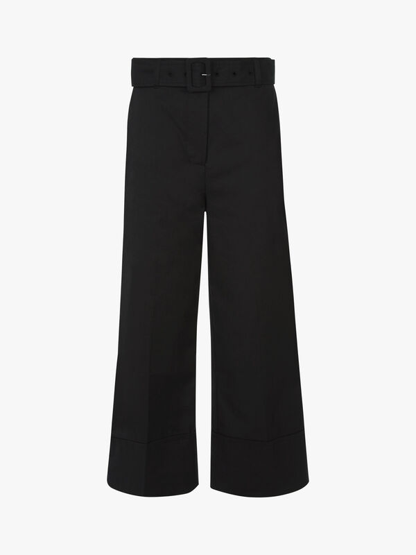 Belted Crop Pant