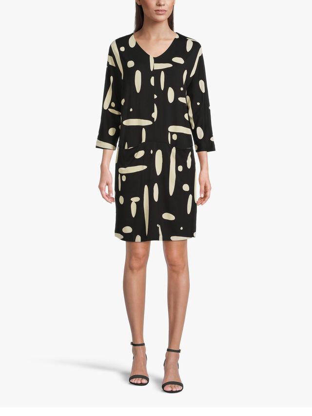 Gizina Printed Jersey Tunic