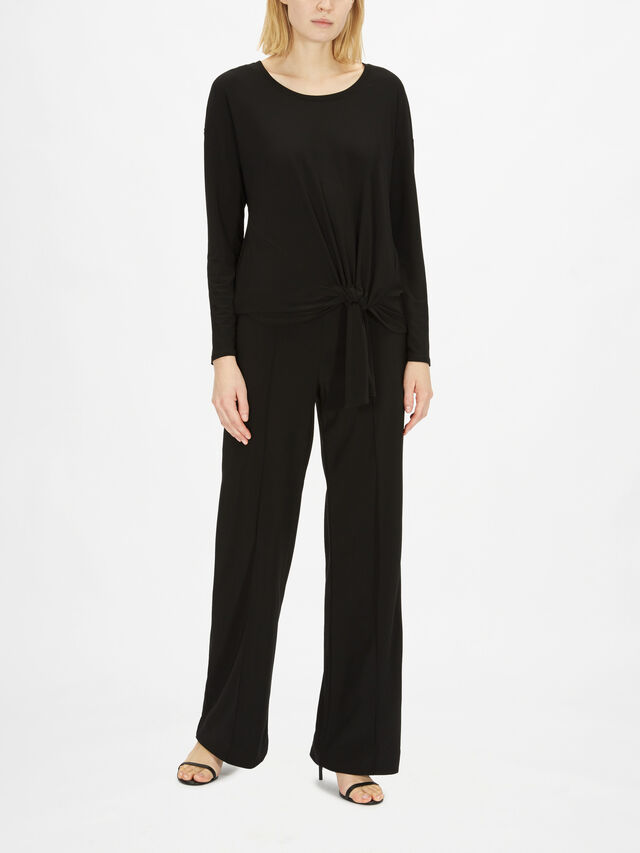 Ruch Tie Bottom Top Silky Knit