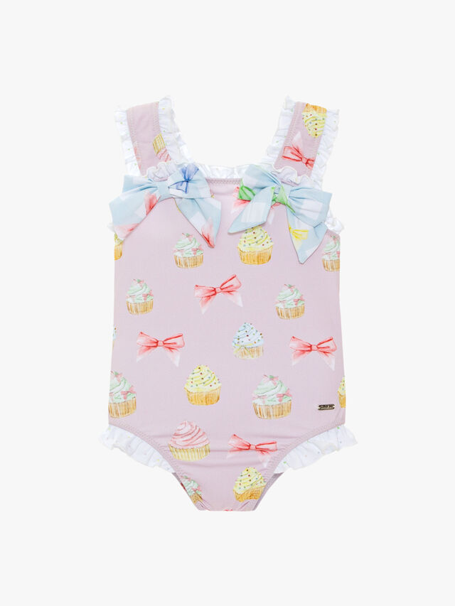 Cupcakes and Bows Swimsuit