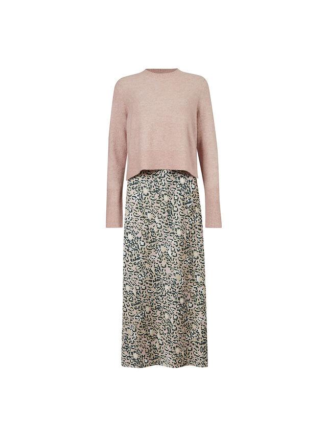 Tiana Halftone Dress