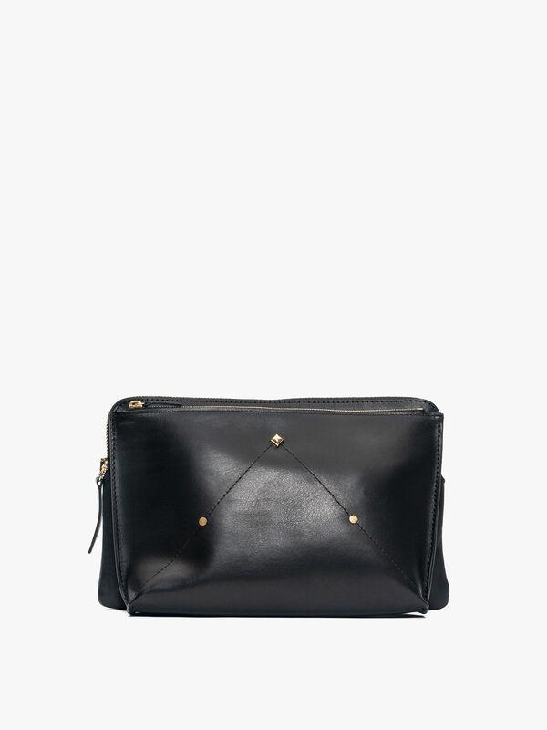 Le Deedee Double Pocket Crossbody Bag