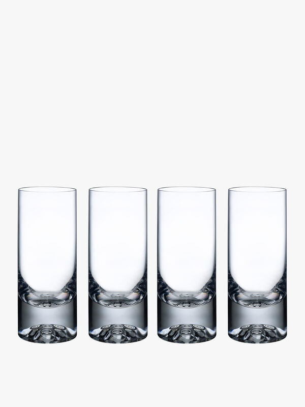 Shade High Ball Glass Set of 4