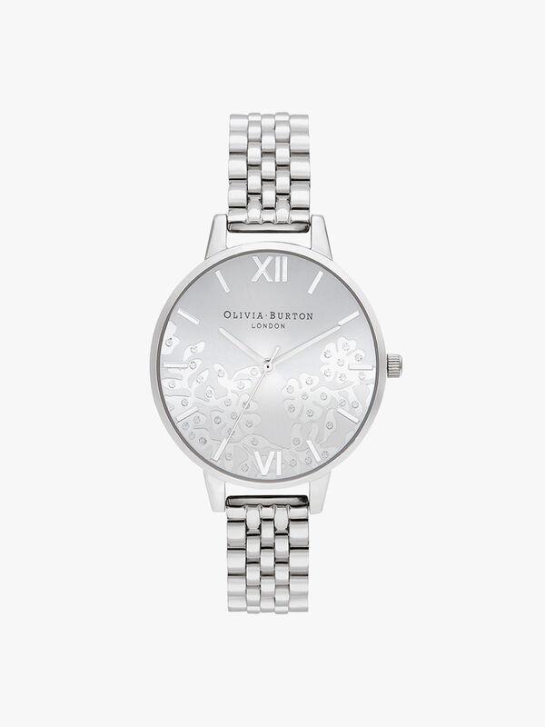 Bejewelled Bracelet Watch