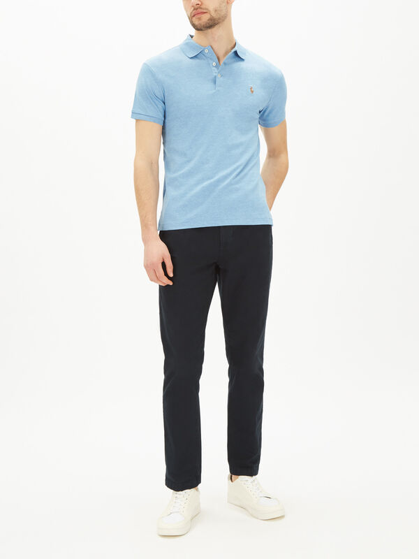 Slim Fit Soft-Touch Polo Shirt